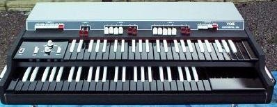 Combo Organ Heaven Vox Dual Manual